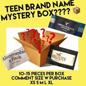 Mystery box - brand name - girls&boys-HCO,AE,A&F